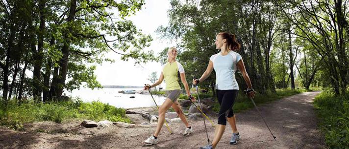 Nordic Walking een boost voor je gezondheid